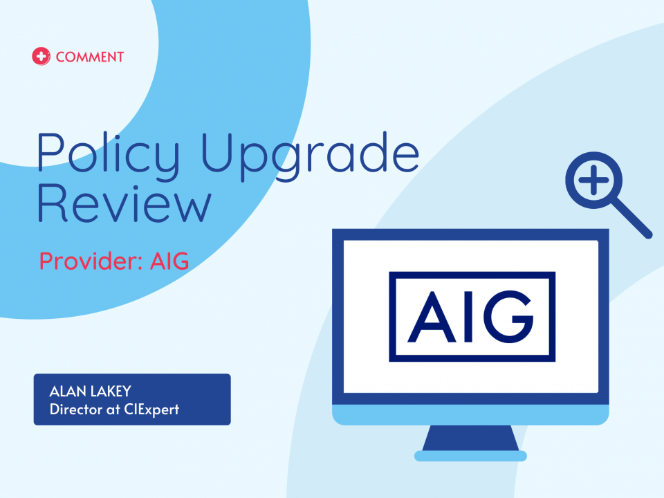 AIG Policy upgrade